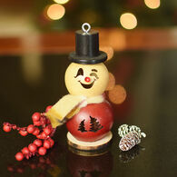 Meadowbrooke Gourds Lil Philip Short Snowman Gourd