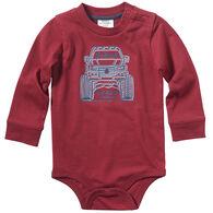Carhartt Infant Boy's Monster Truck Long-Sleeve Bodyshirt