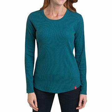 Dickies Women's Thermal Long-Sleeve T-Shirt