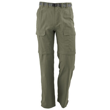 White Sierra Mens Convertible Trail Pant
