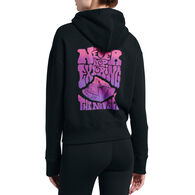 The North Face Women's Never Stop Exploring Cropped Logo Haze Hoodie
