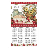 Kay Dee Designs 2019 Apple Pie Calendar Towel