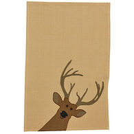 Park Design Deer Applique Dish Towel