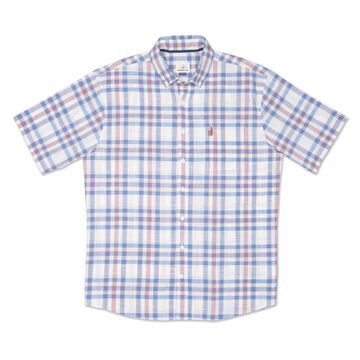 johnnie-O Mens Ellington Hangin Out Button Down Short-Sleeve Shirt