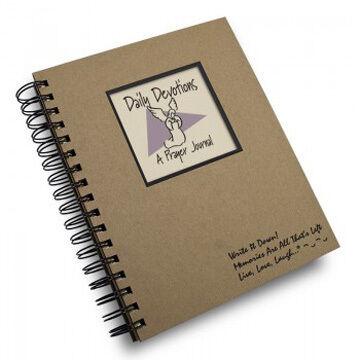 "Journals Unlimited ""Write It Down!"" Daily Devotions Prayer Journal"