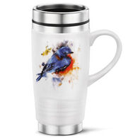 Big Sky Carvers Springtime Bluebird Travel Mug