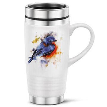 Big Sky Carvers Springtime Bluebird Travel Mug