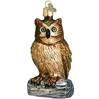 Old World Christmas Wise Old Owl Ornament