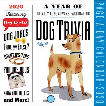 A Year of Dog Trivia 2020 Page-A-Day Calendar by Sarah Brady