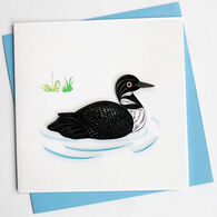 Quilling Card Loon Everyday Card
