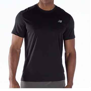 New Balance Mens Go 2 Short-Sleeve Shirt
