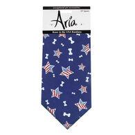 Aria Bone in the USA Patriotic Dog Bandana