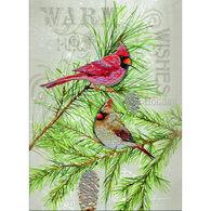 LPG Greetings Cardinal Pair Boxed Christmas Cards