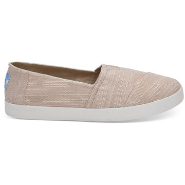 TOMS Womens Avalon Cotton Slip-On Shoe