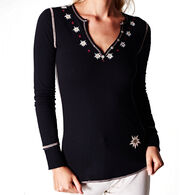 Alp N Rock Women's Edelweiss III Henley Long-Sleeve Shirt