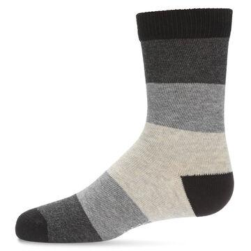 MeMoi Boys Ombre Crew Sock