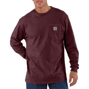 Carhartt Men's Workwear Long-Sleeve Pocket T-Shirt