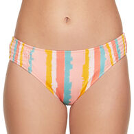 Sol Collective Women's Terra Striped Hipster Swimsuit Bottom