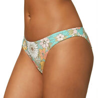 O'Neill Women's Nazare Wildflower Classic Full Bikini Bottom