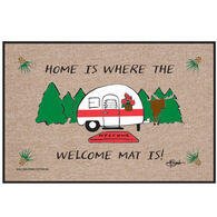 High Cotton Doormat - Home Where Welcome Mat Camper