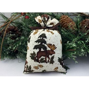 Moosehead Balsam Fir Moose Tracks Natural Bag