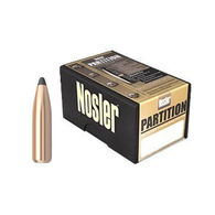 "Nosler Partition 7mm 160 Grain .284"" Spitzer Point Rifle Bullet (50)"