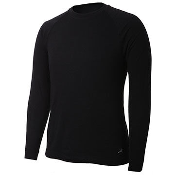 Terramar Mens Two-Layer Authentic Thermal 2.0 Crew-Neck Baselayer Top