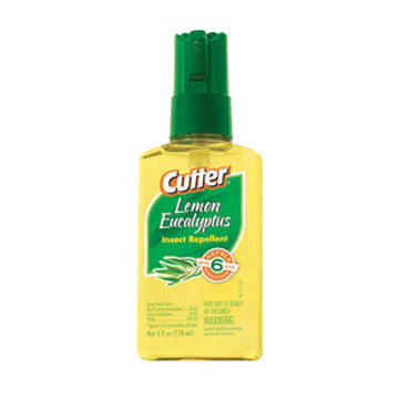 Cutter Lemon Eucalyptus Insect Repellent Pump Spray - 4 oz.