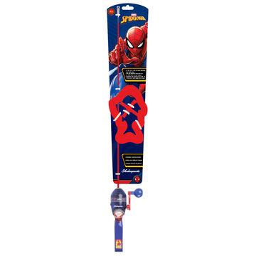 Shakespeare Childrens Spiderman Lighted Spincast Combo Kit