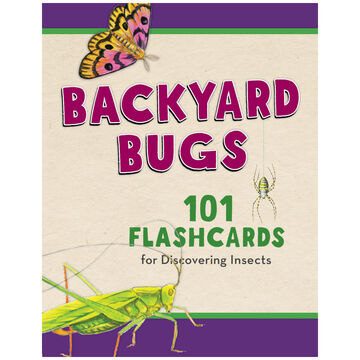 Backyard Bugs: 101 Flashcards for Discovering Insects by Todd Telander
