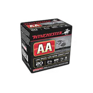 "Winchester AA Featherlite 20 GA 2-3/4"" 7/8 oz. #8 Shotshell Ammo (25)"