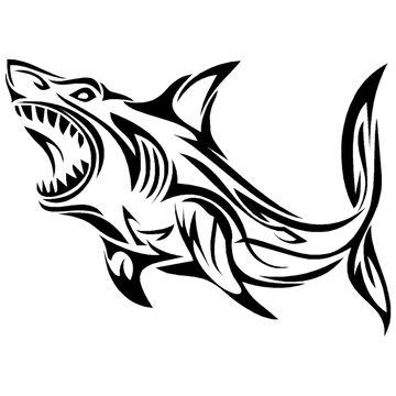 Sticker Cabana Shark Sticker