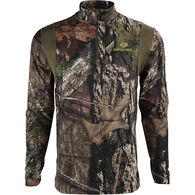 Paramount EHG Elite Men's Kenai Camo Quarter-Zip Thermal Base Layer Top