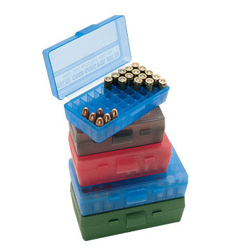 MTM P-50 Series Handgun Ammo Box