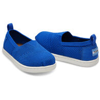 TOMS Toddler Boy's Tiny Mesh Knit Alpargata Slip-On Shoe
