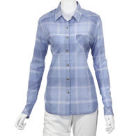North River Women's Cotton Voile Long-Sleeve Shirt