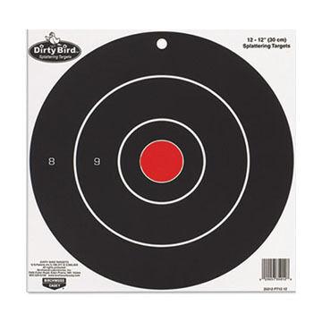 Birchwood Casey Dirty Bird 8 Bulls-Eye Target - 25 Pk.