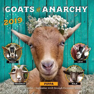 Goats of Anarchy 2019 Wall Calendar by Leanne Lauricella