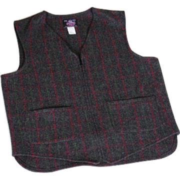 Johnson Woolen Mills Mens Unlined Wool Vest