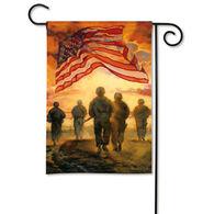 BreezeArt American Heroes Garden Flag