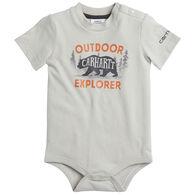 Carhartt Infant Outdoor Explorer Short-Sleeve Bodyshirt