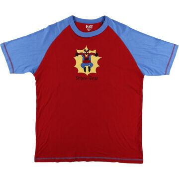 Lazy One Men's Spider-Bear PJ Short-Sleeve T-Shirt