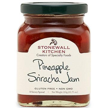 Stonewall Kitchen Pineapple Sriracha Jam, 11.75 oz
