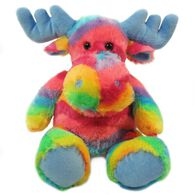 "Wishpets 10"" Stuffed RainbowSoft Sitting Moose"