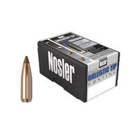 "Nosler Ballistic Tip 6.5mm 100 Grain .264"" Spitzer Point / Brown Tip Rifle Bullet (50)"