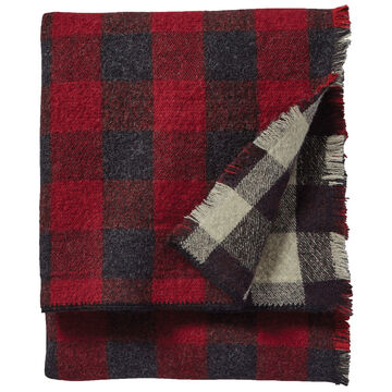 Pendleton Woolen Mills Rob Roy Reversible Double Weave Wool Throw
