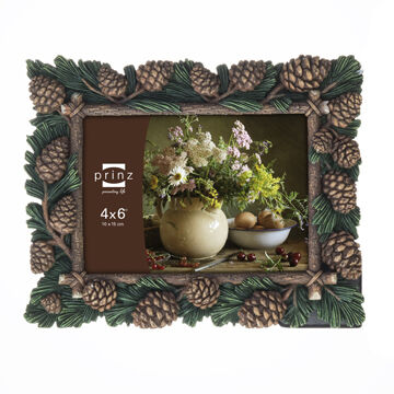 "Prinz Pine Forest Nature Pine Picture Frame - 4"" x 6"""
