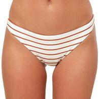 O'Neill Women's Karmen Stripe Classic Bikini Bottom