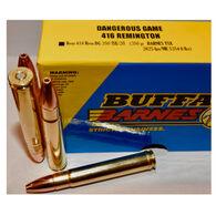 Buffalo Bore Dangerous Game 416 Remington 350 Grain Barnes TSX Rifle Ammo (20)
