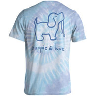 Puppie Love Women's Tie Dye #4 Pup Short-Sleeve T-Shirt
